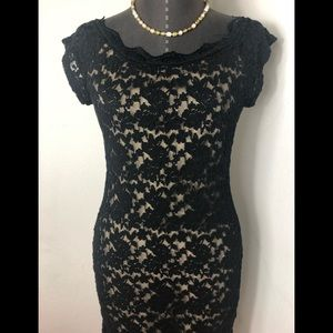 Lace Bodycon Dress By Avec